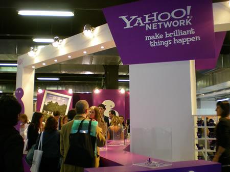 Lo stand di Yahoo allo Iab forum