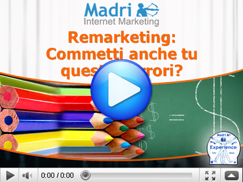 Pubblicit Online - Errori del Remarketing AdWords