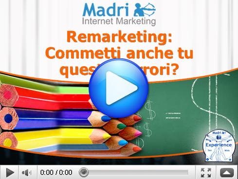 Pubblicità Online - Errori del Remarketing AdWords