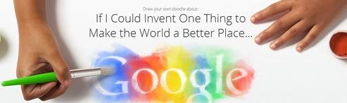 Partono le iscrizioni alla nuova edizione di Doodle for Google Contest