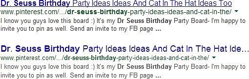 Font più grande nei risultati di ricerca su google