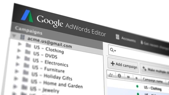 adwords editor versione 11