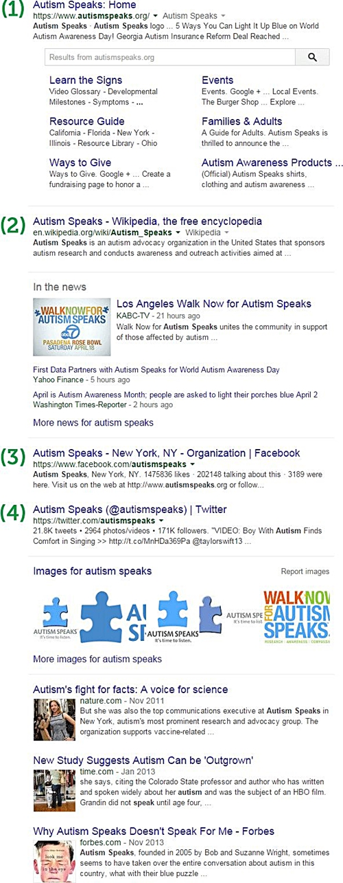screenshot-serp-con-chiave-autism-speaks