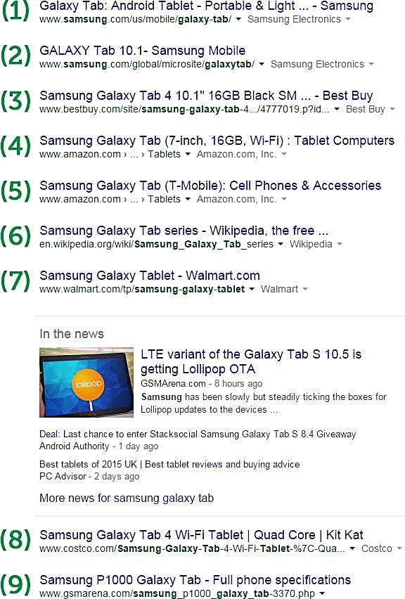 screenshot-serp-risultati-organici-e-news