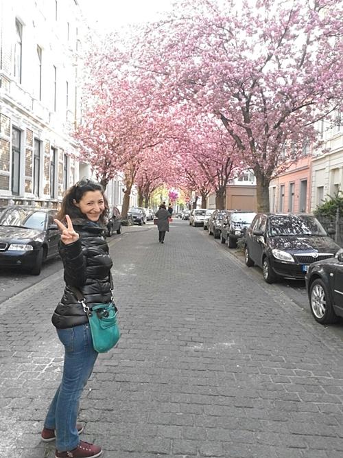Michela si è trasferita a Bonn per partecipare ad uno stage post corso Madri Internet Marketing