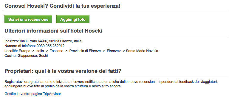 Come rivendicare la venue su tripadvisor