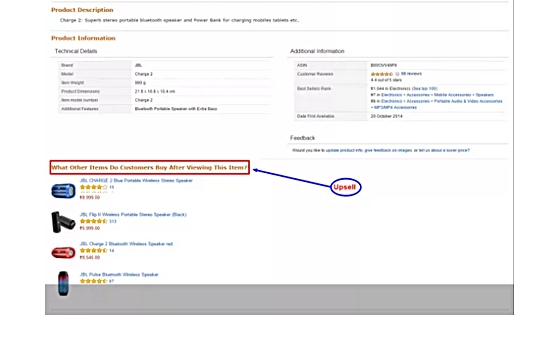 esempi di upsell e cross-sell su amazon2