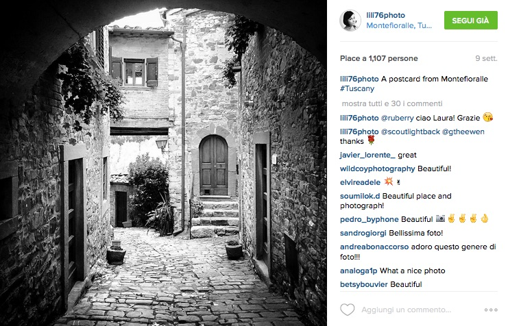 foto di lily ilaria vangi su instagram