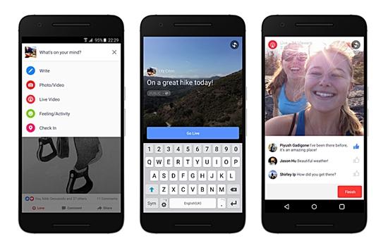 Facebook lancia nuove funzioni di live a livello globale