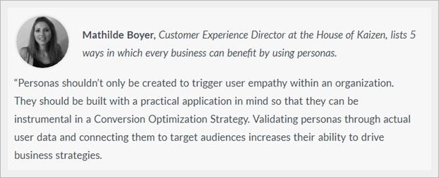 Come costruire profili acquirente per ottimizzare un ecommerce. Il parere dell'esperta