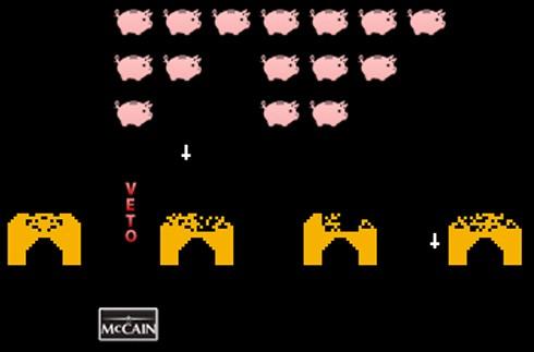 Pork invaders