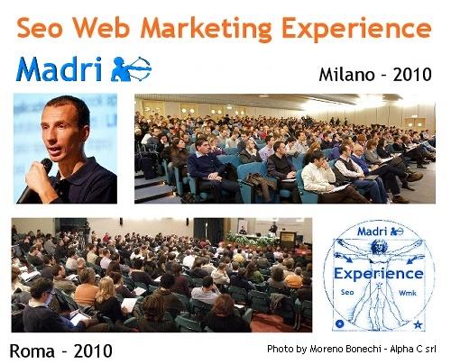 Seo Web Marketing Experience 2010