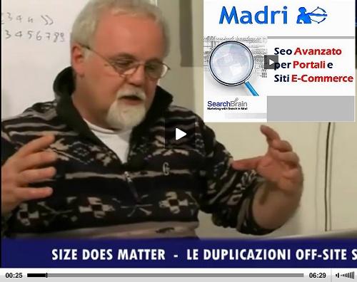 Seo Avanzato - Pillole di Piersante Paneghel by Madri.com