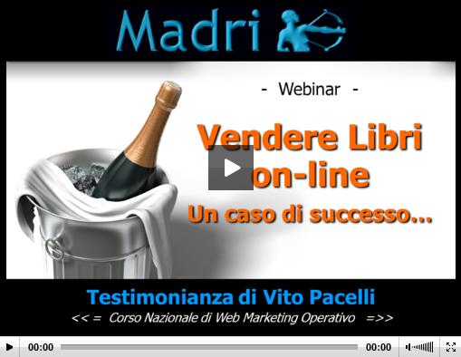 Vendere libri on line: il webinar di Vito Pacelli