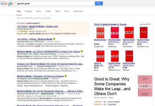 Box google shopping sulla serp