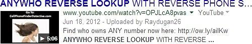 title tagliato su google