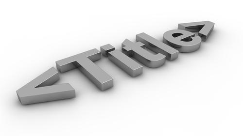 Nuove linee guida per title tag