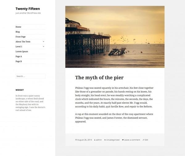 nuovo aggiornamento per wordpress - dicembre 2014