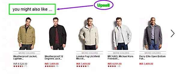 esempi di upsell 1