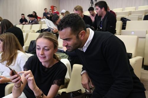 Federico Salvitti al Workshop IULM sui Social Media