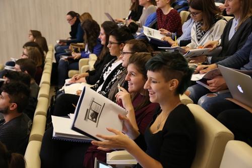 Partecipanti al Workshop Social Media Power alla IULM di Milano