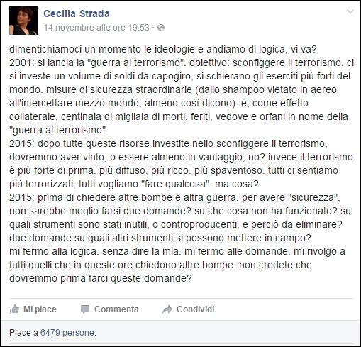 polemica-post-cecilia-strada-su-facebook