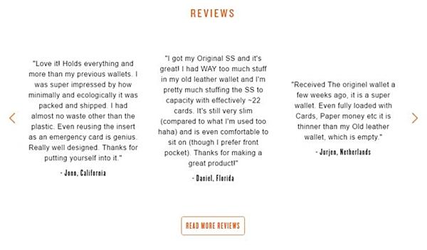 esempio di recensione ecommerce attraverso messaggi email