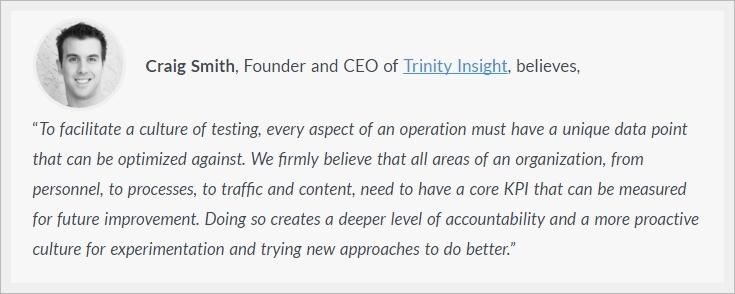 Migliorare efficacia del proprio business grazie alla cultura dell'ottimizzazione