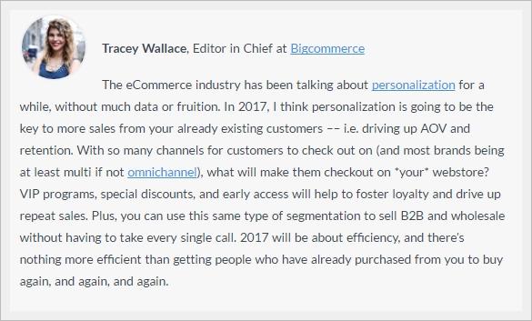 personalizzazione siti ecommerce